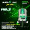 Líneas Verdes verdes nivel del nivel Vh515 cinco del laser de Danpon del laser