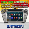 Coche DVD del androide 5.1 de Witson para Hyundai IX35 (W2-F9545Y)
