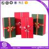 Contenitore di regalo di carta che impacca il vestito dalla sciarpa del legame di Cand