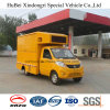 5 euros Foton 8cbm Mobile Advertizing Truck with Good Quality