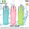 La bottiglia di acqua di plastica di sport di corsa alla moda 2017, plastica corrente mette in mostra la bottiglia (HDP-0449)