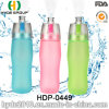 Garrafa de água plástica personalizada do esporte do abanador do aperto, frasco plástico do esporte de BPA livre Joyshaker (HDP-0449)