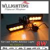 비상등 5  경고하는 8개의 LED 석쇠 빛 호박색