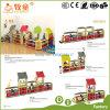 Собрание шкафа игрушки страны ковбоя Гуанчжоу деревянное материальное зеленое