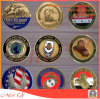 銅または金または銀のめっきのロゴのカスタマイズされた金属の硬貨