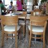 Tabla de madera y silla del restaurante del precio de fábrica caliente de la venta (SP-CS337)