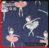 Большим ткани джинсовой ткани Tc цветка напечатанные Twill