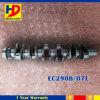 Bon vilebrequin de nécessaire de moteur diesel pour Ec290b D7e