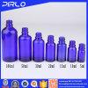 Bottiglia di vetro dell'olio essenziale dell'azzurro di alta qualità (5ml 10ml 15ml 30ml 50ml 100ml)