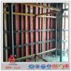 O feixe substitui o molde do muro de cimento do formulário do painel