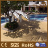 Decking composé en plastique d'étage en bois utilisé par Foshan de la Chine