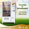 Distributore automatico della bevanda con affissione a cristalli liquidi che fa pubblicità allo schermo