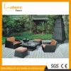 流行の屋外の藤の家具の部門別の庭のソファー