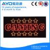 Retângulo de Hidly o sinal do diodo emissor de luz do jogo de Ásia