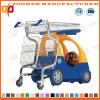 Kind-Supermarkt-Einkaufen-Karren-Laufkatze mit Sitz (ZHt253)
