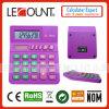 Pequeña calculadora de escritorio de 8 dígitos para los estudiantes/los cabritos con el sitio grande para el número de clase (LC289)