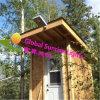 8W todo en una luz de calle solar integrada del LED, iluminación solar del jardín