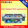 Impresora solvente al aire libre vendedora caliente Infiniti/desafiador Fy-3278L+ con 510 pistas 50pl