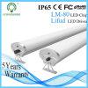 알루미늄 LED 고정편 IP65 50W 1200mm LED 세 배 증거 전등 설비