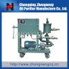 Dispositivo de la limpieza del aceite del engranaje de la prensa de la placa/purificador de aceite móviles de lubricante