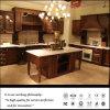 新しい2014贅沢な純木の食器棚