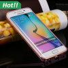 Caso de la cubierta del teléfono móvil del borde para Samsung S6, caja de aluminio de parachoques del metal dual del color para el borde de la galaxia S4 S5 S6