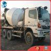 6~8cbm/15ton 2006~2009 6*4-LHD-Drive日本のオリジナルは使用されたHino500具体的なミキサーのトラックを白塗り直す