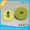 Tag de orelha esperto do gado RFID de TPU T5577 para a gerência animal