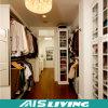 Guardarropa de madera del diseño del armario sin llamar del grano del chalet de lujo para los muebles caseros (AIS-W455)