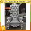 Rey tallado de madera antiguo occidental Chair de la alta calidad