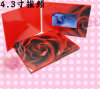 Карточка LCD 4.3 дюймов видео- с памятью 256MB на праздник