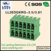 Pluggable разъем PCB терминальных блоков Ll2edgkrg-3.5/3.81