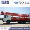 La última plataforma de perforación Carro-Montada Hfc-400 del receptor de papel de agua del producto