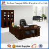 Último escritorio de oficina de lujo al por mayor barato del CEO de madera