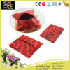 方法印刷の赤い宝石類袋(8103)