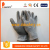 13G Black/unità di elaborazione Palm Coated Anti-Cut Work Gloves Dcr120 di White Hppe e di Spandex Knitted Grey