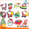 PVC livre Rubber Fridge Magnet de Mold 3D Christmas Soft