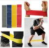 Faixa do exercício do látex/faixa da aptidão/faixa da ioga/faixa do estiramento/faixa da resistência