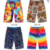 Shorts curtos feitos sob encomenda da praia do `S dos homens