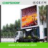 Chipshow bewegliche im Freien LED Anschlagtafel-niedriger Preis des Förderwagen-P10