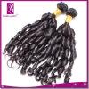 自由な織り方の毛は卸しで詰める100人間の毛髪12を