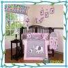 こんにちは芽の刺繍デザイン赤ん坊のまぐさ桶の養樹園の寝具セット