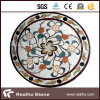 Mattonelle di pietra di marmo del modello di mosaico per la pavimentazione