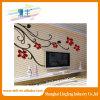 Etiqueta engomada del espejo de la etiqueta engomada de la flor Lfaw003, etiqueta engomada de acrílico