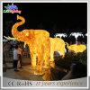 Indicatore luminoso esterno della decorazione di natale dell'elefante acrilico della scultura di RoHS del Ce