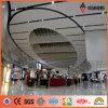4mmのアルミニウム合成のパネル(AE-31A)を使用してシドニー空港室内装飾