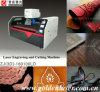 Gravure de laser d'unité centrale de PVC et machine de découpage en cuir synthétiques avec la tête de Galvo (ZJJG (3D) - 160100LD)