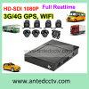 Bewegliche Bus CCTV-Lösungen mit 2/4/8 Kameras 1080P GPS aufspürenWiFi 3G 4G