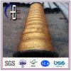 Manguito de goma resistente de la rastra de la abrasión con ensanchado para dragar