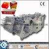 Máquina de papel de la fabricación de cajas de la hamburguesa de 180 rectángulos (QC-9905)